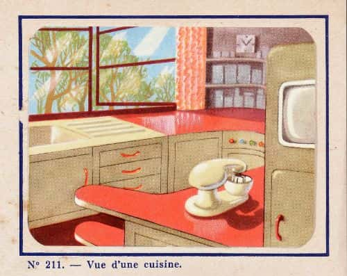 Life in the year 2000 will take place with small screens installed in the kitchen and large ones in the living room