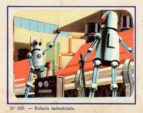 Life in the year 2000, with robots in industry, will mark the end of exhausting assembly-line work.