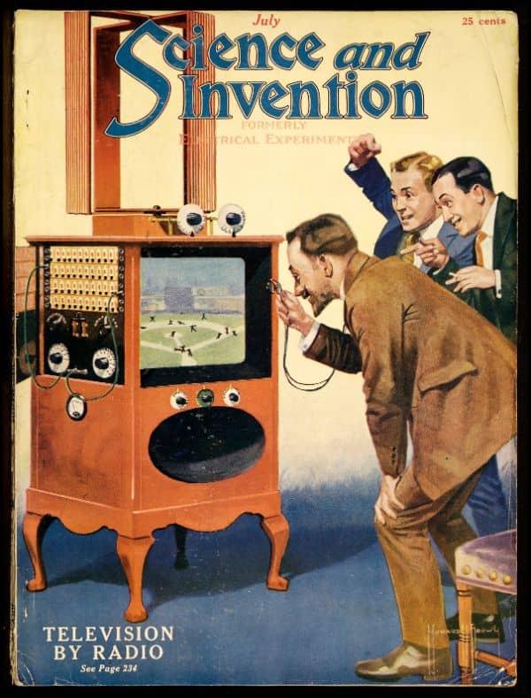 Tele-vision by radio